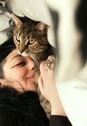 Mon chat Billy et moi