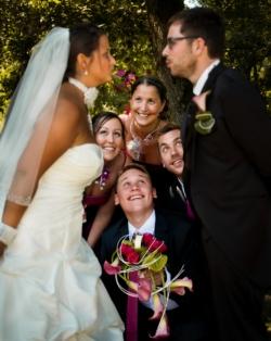 Photo de mariage Noémie et Maximilien et leurs témoins