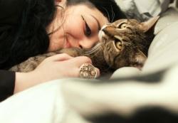 Mon chat Billy et moi