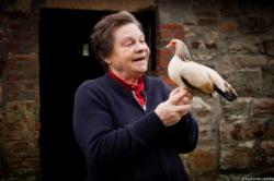 Ma Marraine Denise et sa poule