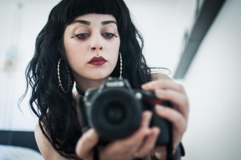 Ludivine Leriche autoportrait